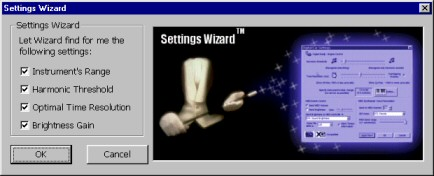 wizard screenshot